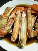 贅沢な家庭の味!松葉ガニde煮ガニ