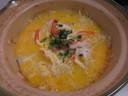 カニすきのシメはこれで決まり!カニの旨味たっぷりのカニ雑炊